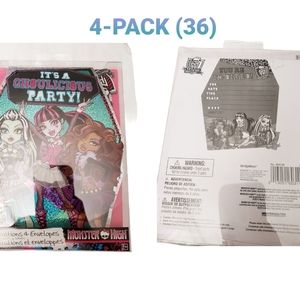 Monster High It's A Ghoulicious Party Invitations